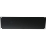 OMNITRONIC Front Panel Z-19U-shaped steel black 3U