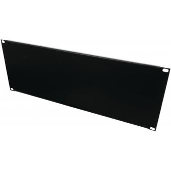 OMNITRONIC Front Panel Z-19U-shaped steel black 4U