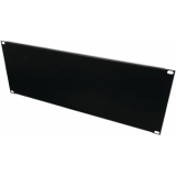 OMNITRONIC Front Panel Z-19U-shaped steel black 4U
