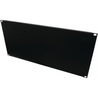 OMNITRONIC Front Panel Z-19U-shaped steel black 5U