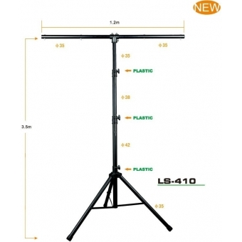 Stativ lumini LS-410
