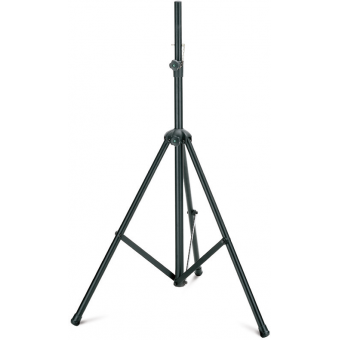 Speaker stand, aluminium, black nylon, H: 1305-2250 mm