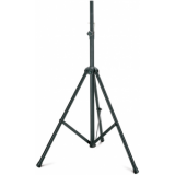 Speaker stand, aluminium, black nylon, H: 1305-2250 mm