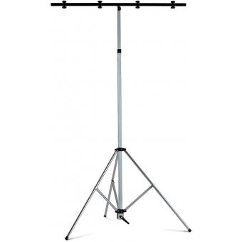 Stativ lumini, cu manivela, H:2110-3540 mm