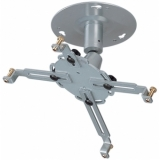 Universal DIA/Video Ceiling mount, adjustable, arm 50 mm, silver