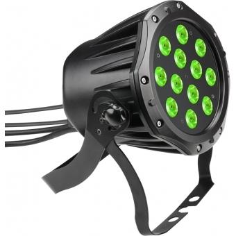Cameo Outdoor PAR TRI 12 IP 65 - 12 x 3 W TRI Colour LED Outdoor PAR Can RGB