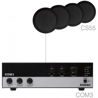 AGRO5.4/B - Small Background Set Com3 & 4x Cs55 Black