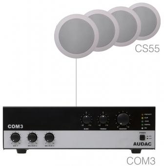 AGRO5.4/W - Small Background Set Com3 & 4x Cs55 White #2
