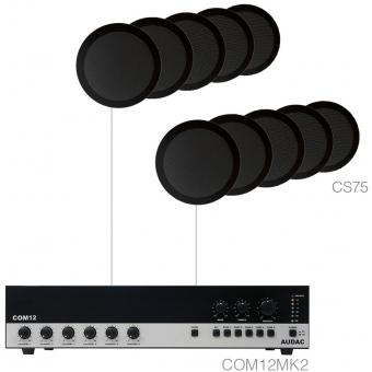 AGRO7.10/B - Large Background Set Com12 & 10x Cs75 Black