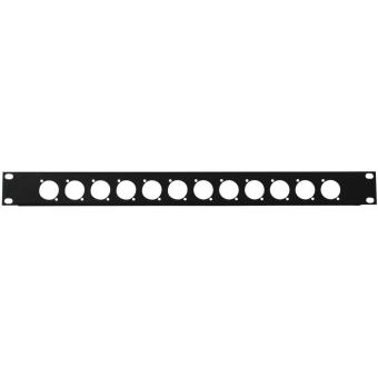 OMNITRONIC Front Panel Z-19 12 x XLR (D-type) 1U