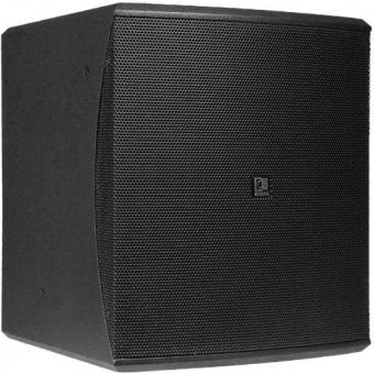 "BASO10/B - Compact 10"" bass reflex cabinet - Black version"