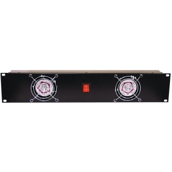 OMNITRONIC Front Panel Z-19 with 2 Fans wired 2U #2