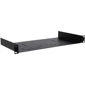 OMNITRONIC Carrier 1U black Multistandard Holes