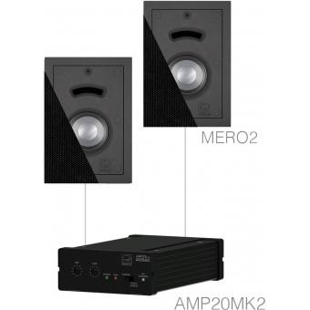 CERRA2.2/B - Small Background Set Amp20 & 2x Mero2 Black