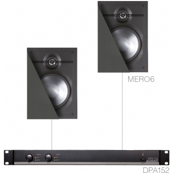 CERRA6.2 - SMALL BACKGROUND SET DPA152 & 2X MERO6 - White version