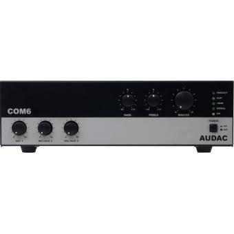 COM6 - Public Address Amplifier 60W 100V - UK Plug