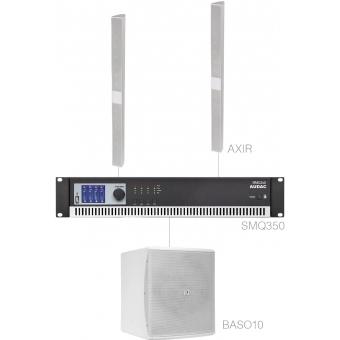 CONGRESS2.3/W - Congress Set 2x Axir + Baso10 + Smq350 - White