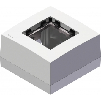 CP45BOX1/W - Surface Mount Box For 45x45 Standard Range - White #2