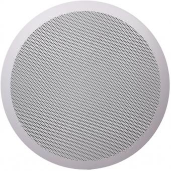 CS85/W - Quick Fit 2way Ceiling Speaker 24w/100v & 8ohm - Ral9010
