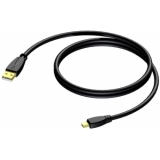CXU625/1.5-H - Cable Usb A - Usb Mini B- 1.5m