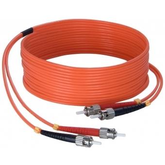 FBS125/50 - Fiber Optic St/pc To St/pc - Duplex, 62.5/125µm, Lshf - 50m