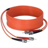 FBS125/50 - Fiber Optic St/pc To St/pc - Duplex, 62.5/125µm, Lshf - 50m