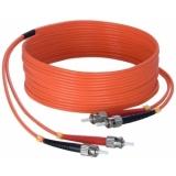 FBS125/80 - Fiber Optic St/pc To St/pc - Duplex, 62.5/125µm, Lshf - 80m