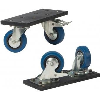 "FCP400MK2 - Flightcase - Flatscreen - Up To 48"" Incl. Wheels #4"