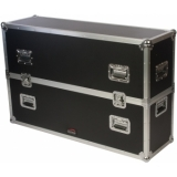 "FCP400MK2 - Flightcase - Flatscreen - Up To 48"" Incl. Wheels"
