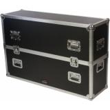 "FCP400MK2 - Flightcase - Flatscreen - Up To 48"" Incl. Wheels"