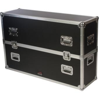 "FCP600MK2 - Flightcase for 50"" -  65"" screens - MKII, wheels included"