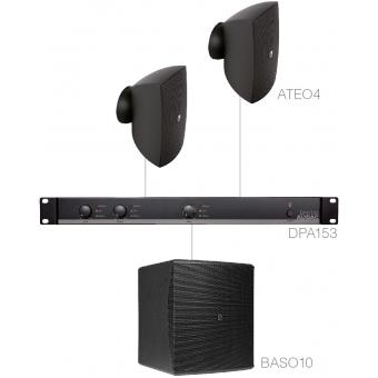 FESTA4.3 - SMALL FOREGROUND SET 2X ATEO4 + BASO10 & DPA153 - Black version