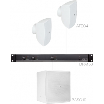 FESTA4.3 - SMALL FOREGROUND SET 2X ATEO4 + BASO10 & DPA153 - White version #2