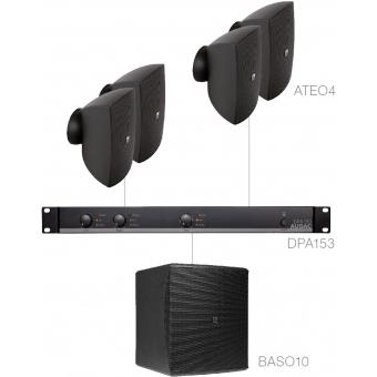 FESTA4.5 - SMALL FOREGROUND SET 4X ATEO4 + BASO10 & DPA153 - Black version