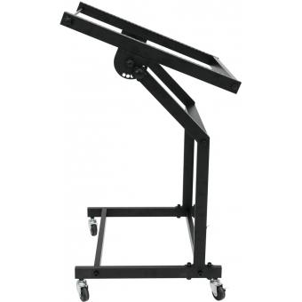 OMNITRONIC Rack Stand 12U/10U adjustable on Wheels #2