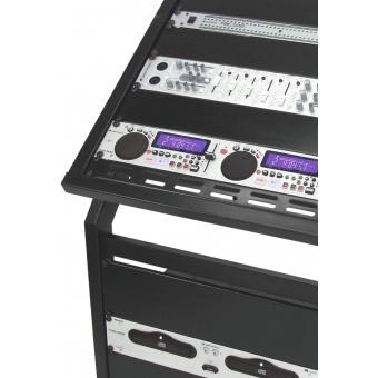 OMNITRONIC Rack Stand 12U/10U adjustable on Wheels #4