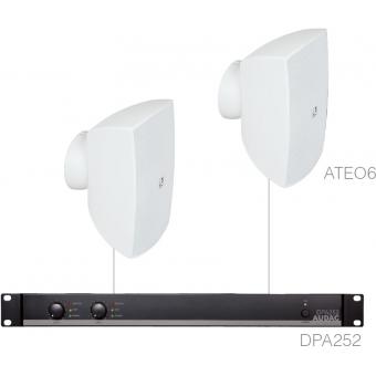 FESTA6.2 - SMALL FOREGROUND SET 2X ATEO6 + DPA252 - White version #2