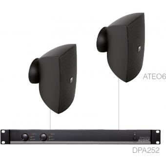 FESTA6.2 - SMALL FOREGROUND SET 2X ATEO6 + DPA252 - White version