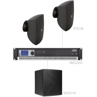 FESTA6.3/B - Small Foreground Set 2x Ateo6 + Baso10 & Smq350 - Black