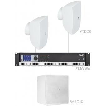 FESTA6.3/W - Small Foreground Set 2x Ateo6 + Baso10 & Smq350 - White