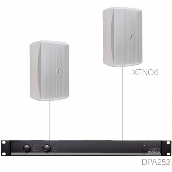 FESTA7.2 - MEDIUM FOREGROUND SET 2X XENO6 + DPA252 - White version #2
