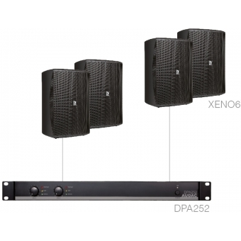 FESTA7.4 - MEDIUM FOREGROUND SET 4X XENO6 + DPA252 - Black version