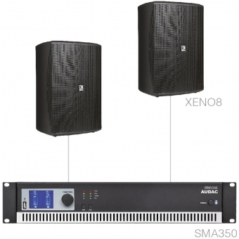 FESTA8.2/B - Medium Foreground Set 2x Xeno8 + Sma350 - Black