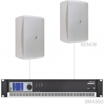 FESTA8.2/W - Medium Foreground Set 2x Xeno8 + Sma350 - White