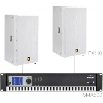 FORTE10.2/W - Large Foreground Set 2x Px110 + Sma500 - White