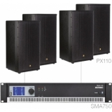 FORTE10.4/B - Large Foreground Set 4x Px110 + Sma750 - Black