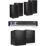 FORTE10.6/B - Large Foreground Set 4x Px110 + 2x Baso15 & Smq750 - Black