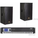 FORTE12.2/B - X Large Foreground Set 2x Px112 + Sma750 - Black