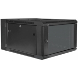 "HPR506/B - Double Section Wall Mounted 19"" Cabinet - 6 Unit - 450+100mm"