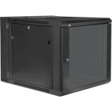 "HPR509/B - Double Section Wall Mounted 19"" Cabinet - 9 Unit - 450+100mm"